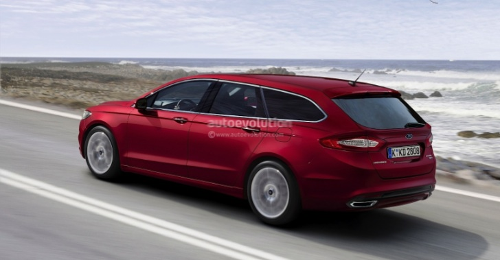 2014 Ford Fusion Wagon and Mondeo Estate Rendering