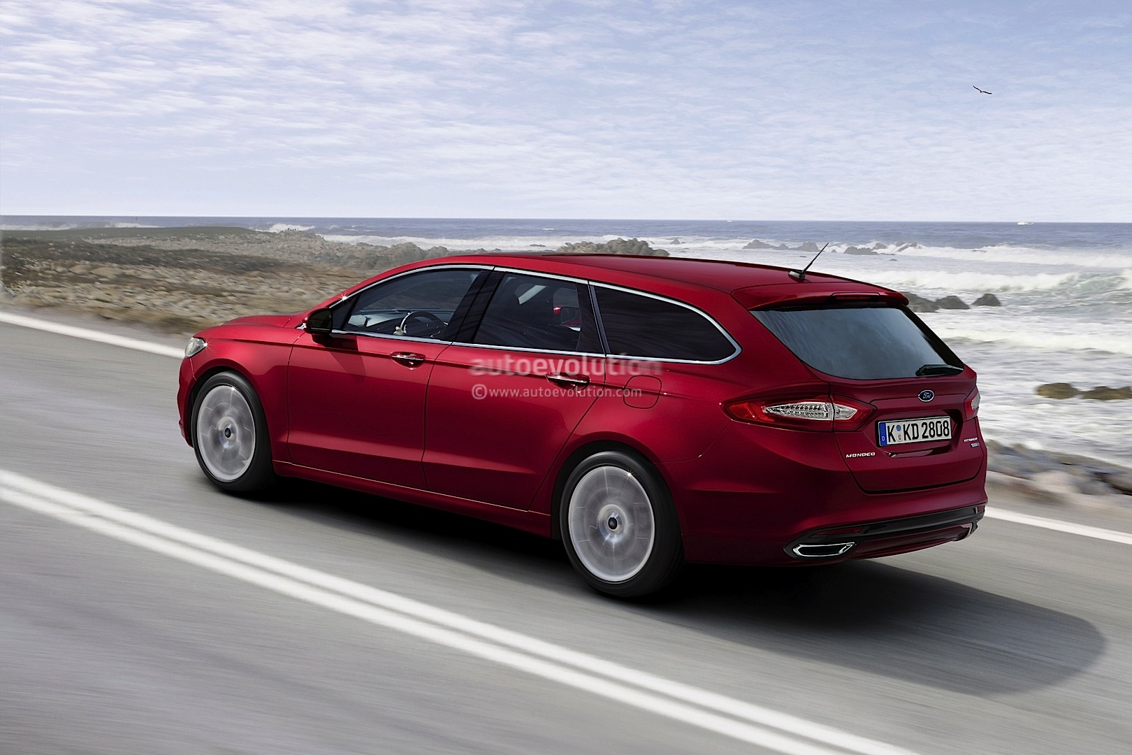 2014 ford fusion wagon and mondeo estate rendering autoevolution. Black Bedroom Furniture Sets. Home Design Ideas