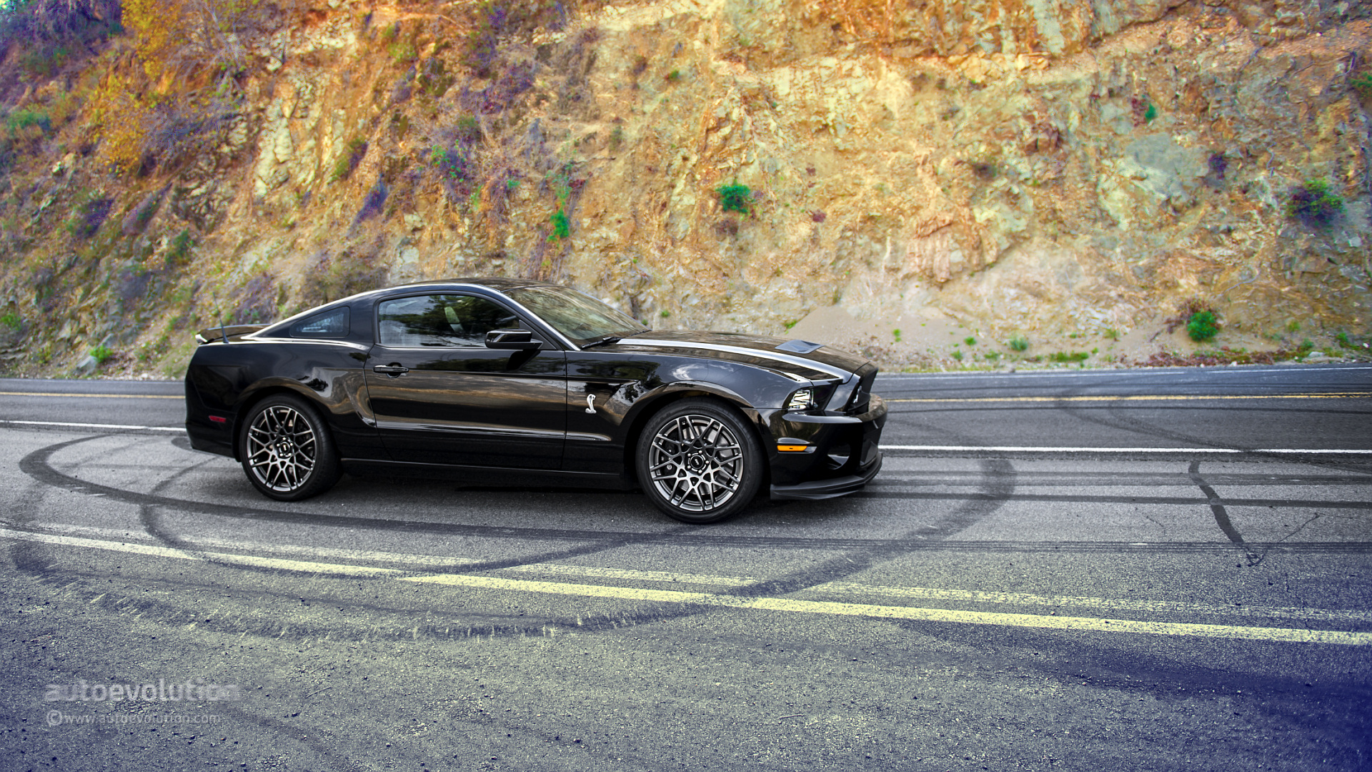 2014 ford mustang shelby gt500 hd wallpapers autoevolution. Black Bedroom Furniture Sets. Home Design Ideas