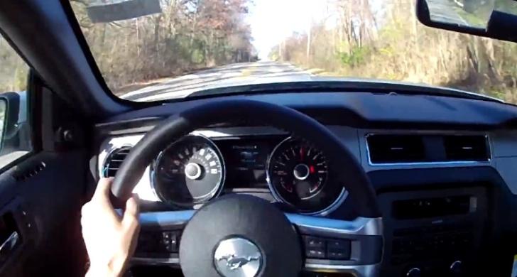 2014 Ford Mustang V6 Pov Test Drive Autoevolution
