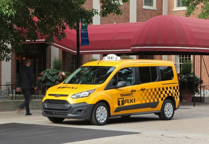 "2014 Ford Transit Connect ""Taxi of the Future"" Revealed [Photo Gallery]"