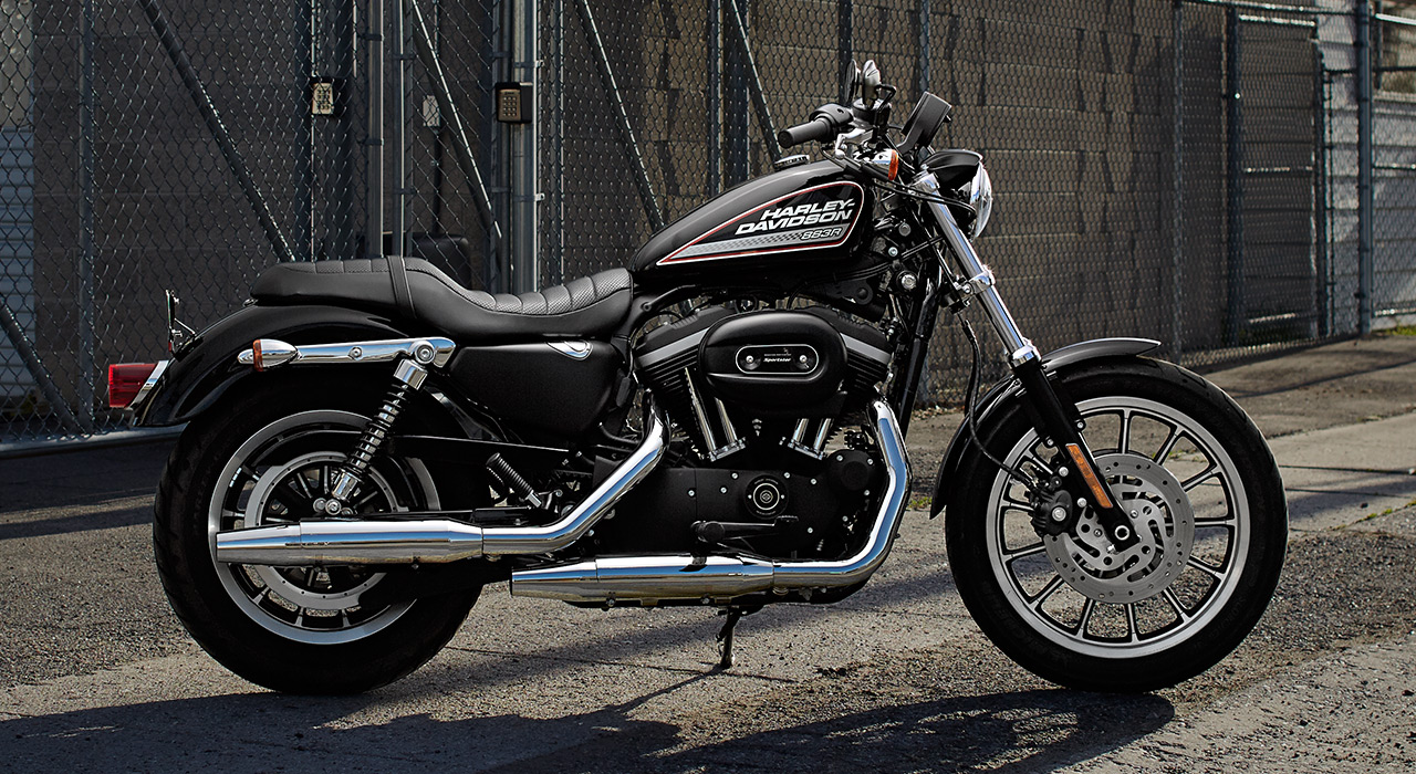 the evolution of the harley davidson Availability, in stock color, gloss black style, harley-davidson street®  engine type, revolution x™ v-twin displacement, 46 cuin (749 cc) seat  height.