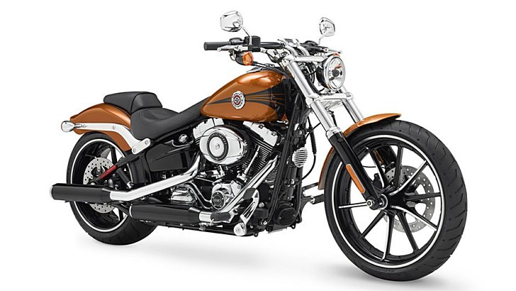 2014 Harley-Davidson Breakout Is Full of Mean Attitude [Photo Gallery]