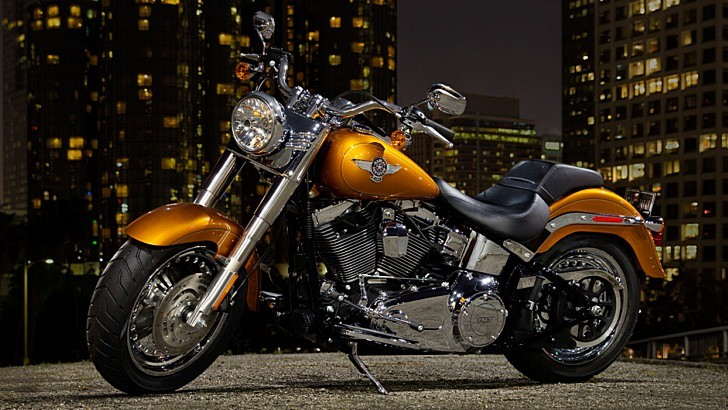 2014 Harley-davidson Softail Fat Boy Flstf Preview