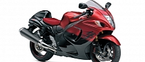 2014 Hayabusa 50th Anniversary Edition in Two-Tone Paint Is Truly Glorious