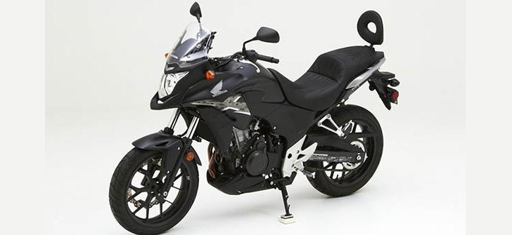2014 Honda CB500X Receives New Corbin Dual Seat - autoevolution