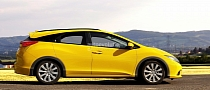 2014 Honda Civic Estate / Wagon Rendering