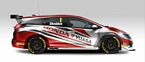 2014 Honda Civic Tourer BTCC Race Car Unveiled