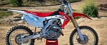 2014 Honda CRF450R in Dealerships in August [Photo Gallery]