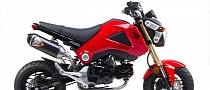 2014 Honda Grom Receives Full S1-R TBR Exhaust