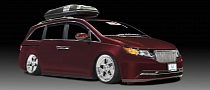 2014 Honda Odyssey Gets 1,000+ HP from Bisimoto