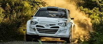 "2014 Hyundai i20 WRC Makes ""Strong Progress"" in Gravel Test"