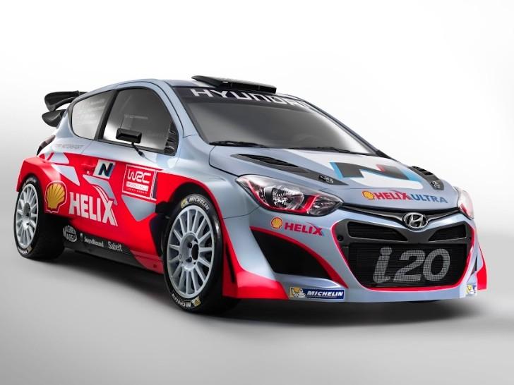 2014 Hyundai i20 WRC Unveiled - autoevolution