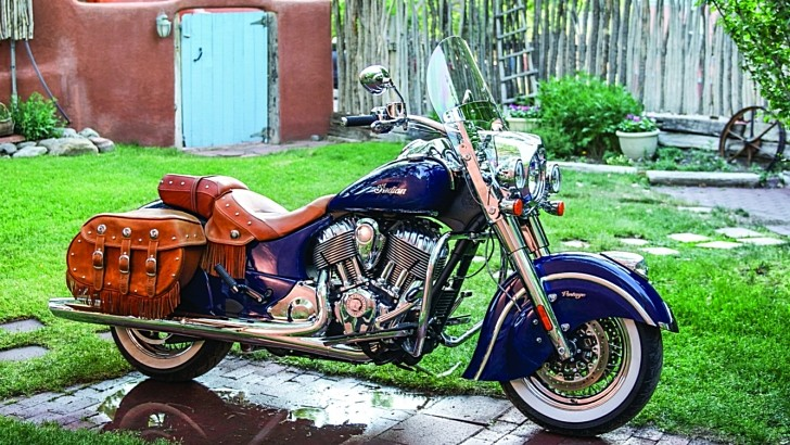 2014 Indian Chief Vintage Official Pictures [Photo Gallery]