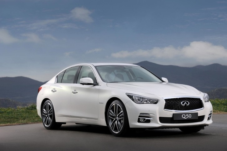 2014 Infiniti Q50 UK Pricing Revealed