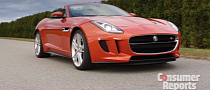 2014 Jaguar F-Type V8 S Reviewed by Consumer Reports [Video]