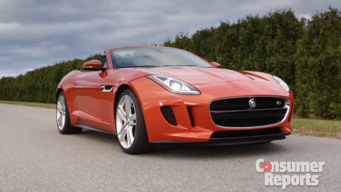2014 Jaguar F Type V8 S Reviewed By Consumer Reports