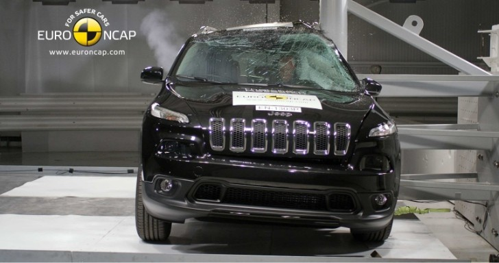 2014 Jeep Cherokee Gets 5-Star Euro NCAP Rating [Video]