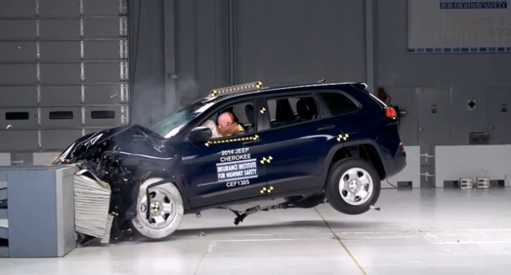 2014 jeep cherokee named iihs top safety pick autoevolution. Black Bedroom Furniture Sets. Home Design Ideas