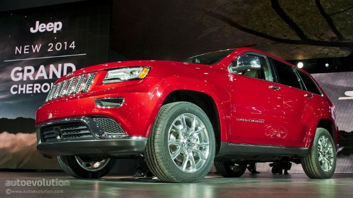 2013 NAIAS: Jeep Grand Cherokee Diesel [Live Photos]