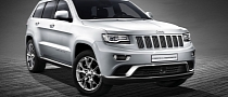 2014 Jeep Grand Cherokee to Make European Debut at Geneva