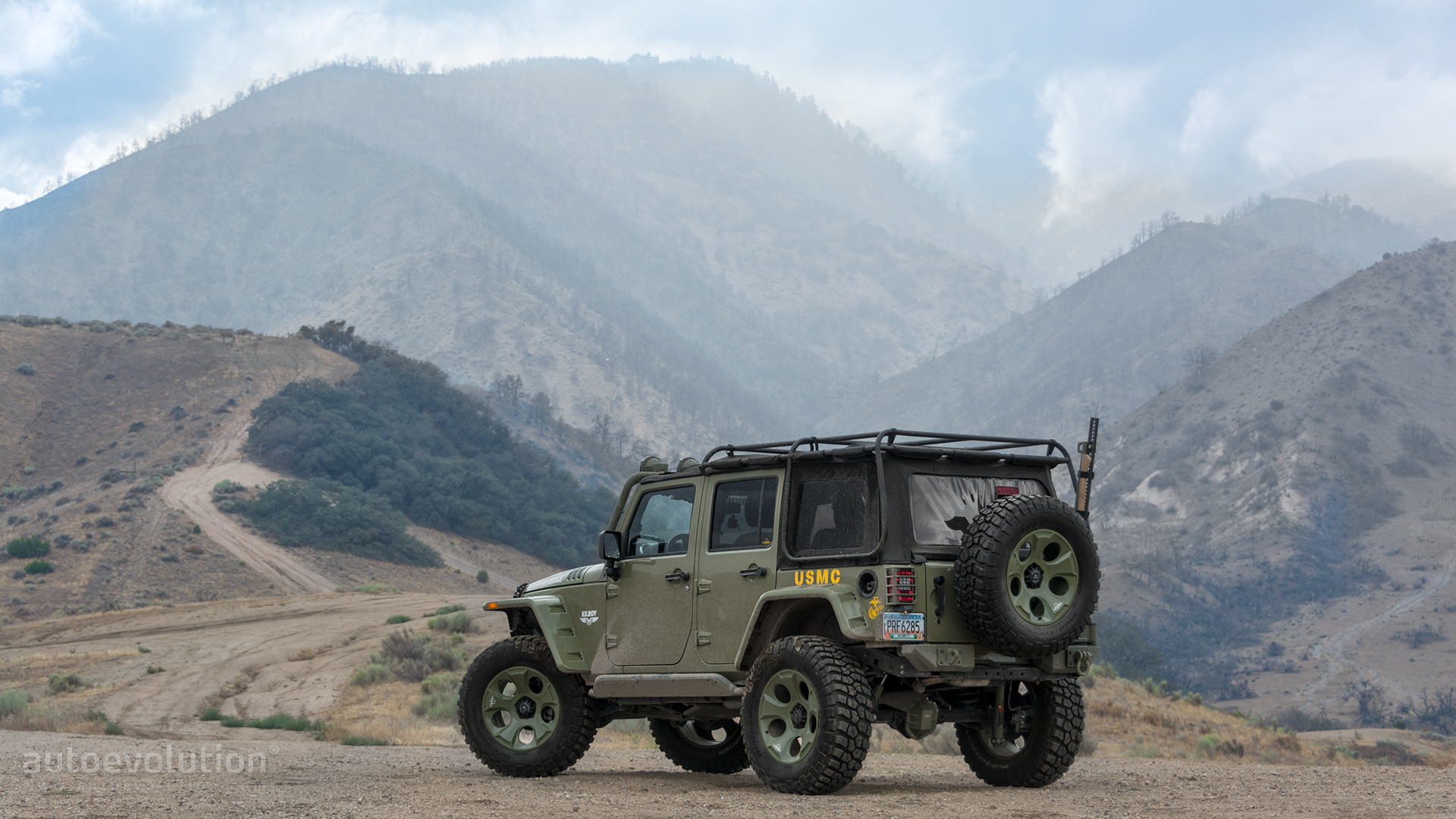 2014 Jeep Wrangler Rubicon by Rugged Ridge Wallpapers Straight