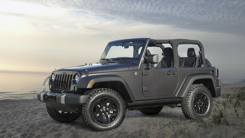 2014 jeep wrangler willys wheeler edition unveiled - autoevolution