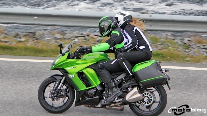2014 Kawasaki Z1000SX Spied in Norway