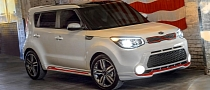 2014 Kia Soul Red Zone Special Edition Launched in the US [Photo Gallery]