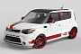 2014 Kia Soul SEMA Project Is a Youtube Video on Wheels