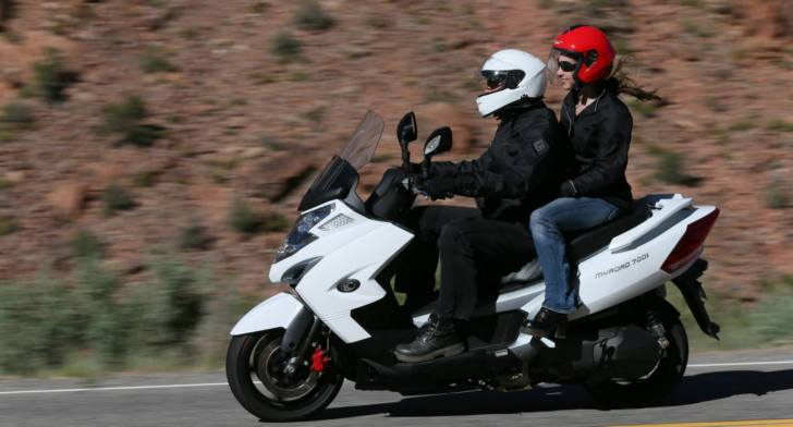 2014 KYMCO MyRoad 700i Is the Largest-Displacement US Scooter ...