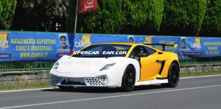 2014 Lamborghini Gallardo Final Edition Spied