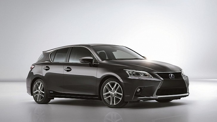 2014 Lexus CT Making North American Debut at LA Show