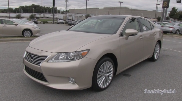 2014 lexus es 350 ultra luxury walkaround. Black Bedroom Furniture Sets. Home Design Ideas