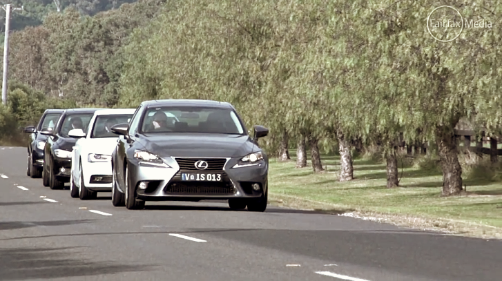 2014 Lexus IS 250 Versus the Germans [Video]