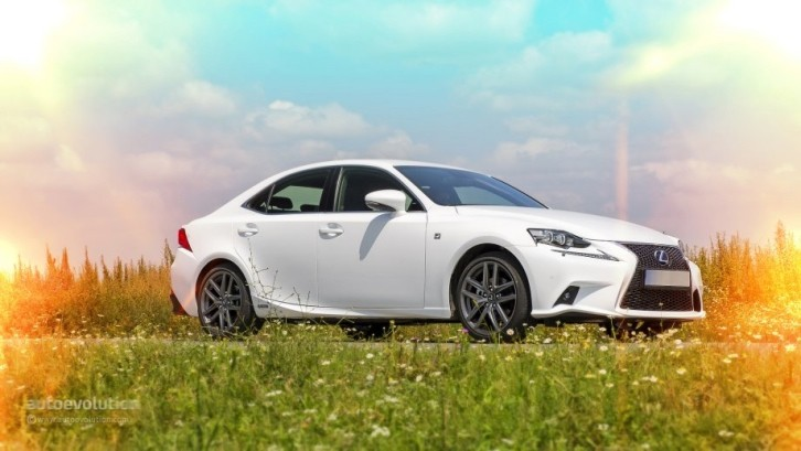 2014 Lexus IS 300h F Sport Tested by autoevolution