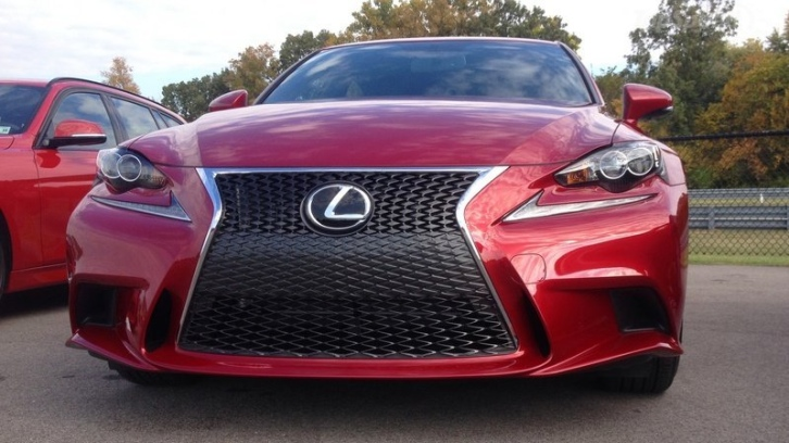 2014 lexus is 350 awd f sport tested by topspeed. Black Bedroom Furniture Sets. Home Design Ideas