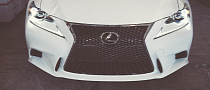 2014 Lexus IS 350 F Sport Gets Vossen Wheels [Video]