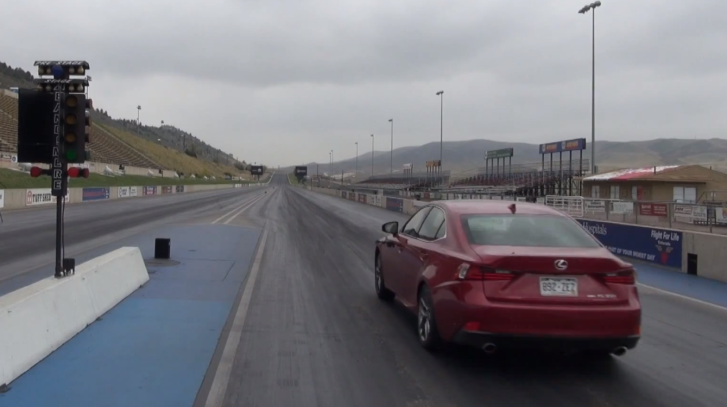 2014 Lexus IS 350 F Sport Quarter Mile Test [Video]