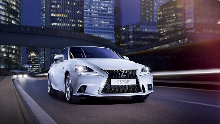 2014 Lexus IS 350 F Sport Tested on Track by autoMedia