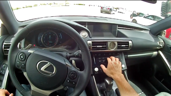 2014 Lexus IS 350 Gets POV Track Test [Video]
