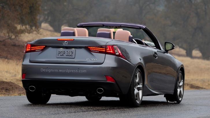 2014 Lexus IS Convertible Rendered