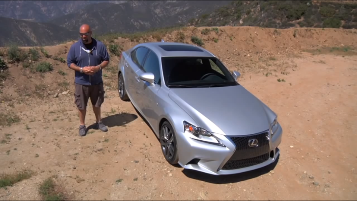 2014 Lexus IS Driven in California Mountains by The Smoking Tire [Video]