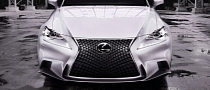 2014 Lexus IS Fully Revealed in Detroit [Photo Gallery]