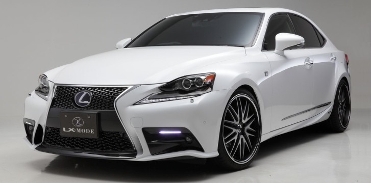 2014 Lexus IS Gains LX-Mode Tuning Kit [Photo Gallery]