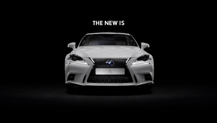 2014 Lexus IS New Commercial Targets Precision and Power [Video]