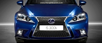 2014 Lexus IS Rendered With Bigger Headlights
