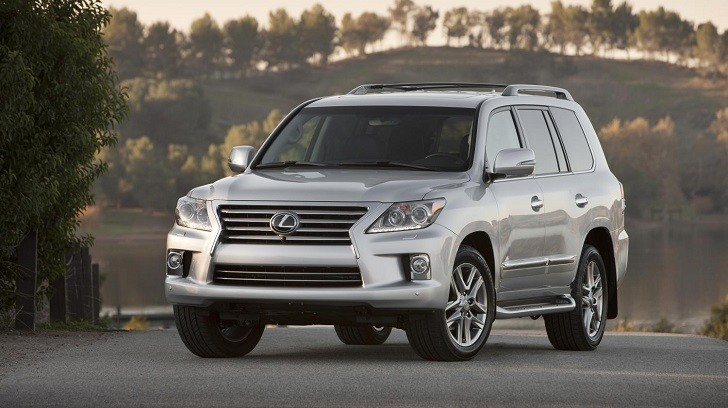 2014 Lexus LX 570 Continues to Offer Luxury and Capability