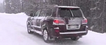 2014 Lexus LX 570 Tested in the Snow by TFL [Video]