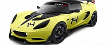 2014 Lotus Elise S Cup R Announced